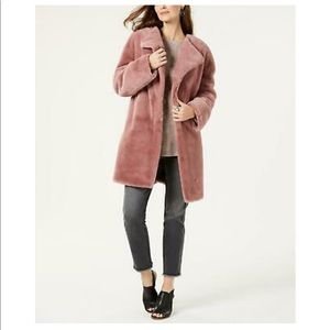 Jackets & Blazers - 🆕 Mauve Faux Fur Jacket
